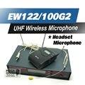 Высокое Качество и Профессионализм Наших EW122G2 УВЧ Беспроводной Микрофон EW100 G2 Беспроводная Система С Поясной Передатчик Гарнитура Головной Микрофон