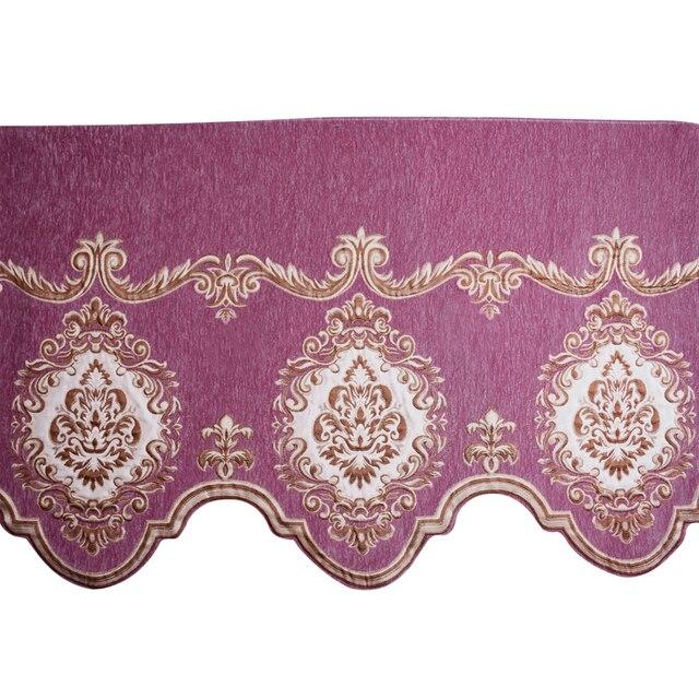 Style Europeen Exquis Broderie Bandeau Pour Salon Chambre Decoratif