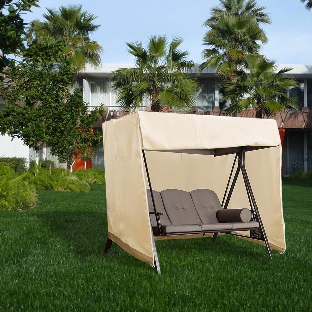 Swing Cover Heavy Duty Dustproof Hammock Cover Glider Canopy Case Patio Furniture Waterproof Cover