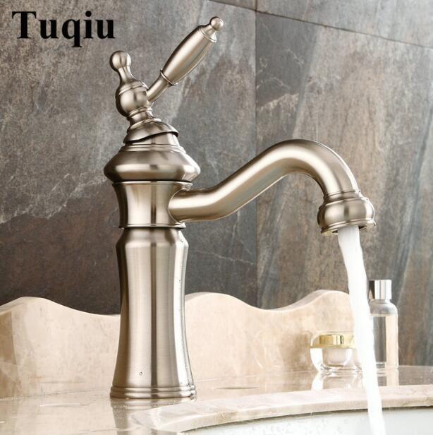 Здесь продается  new arrival high quality nickel brushed brass material high quality single lever hot and cold sink bathroom basin faucet  Строительство и Недвижимость