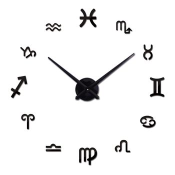 new fashion diy wall clock europe 3d big quartz watch clocks living room large home decorative still life circular stickers 14