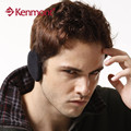 Kenmont  Unisex Winter Ear Cover Ear Muffs Outdoor Sport  Ear Warmers PlushSolid Black Color In Men's Women's Earmuffs KM-3901-M
