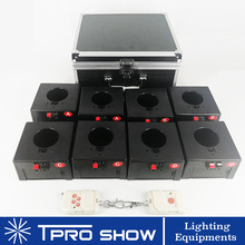 Wireless-Receiver Fireworks Wedding-Pyrotechnics-Machine Cold Spark 1-Case 8-Cues Remote-Stage-Fire-System