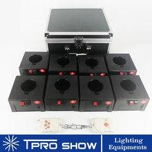 Vuurwerk Koud Spark Draadloze Ontvanger 8 Signalen Bruiloft Pyrotechniek Machine Remote Stage Fire Systeem 1 Case DHL/TNT/ UPS Verzending