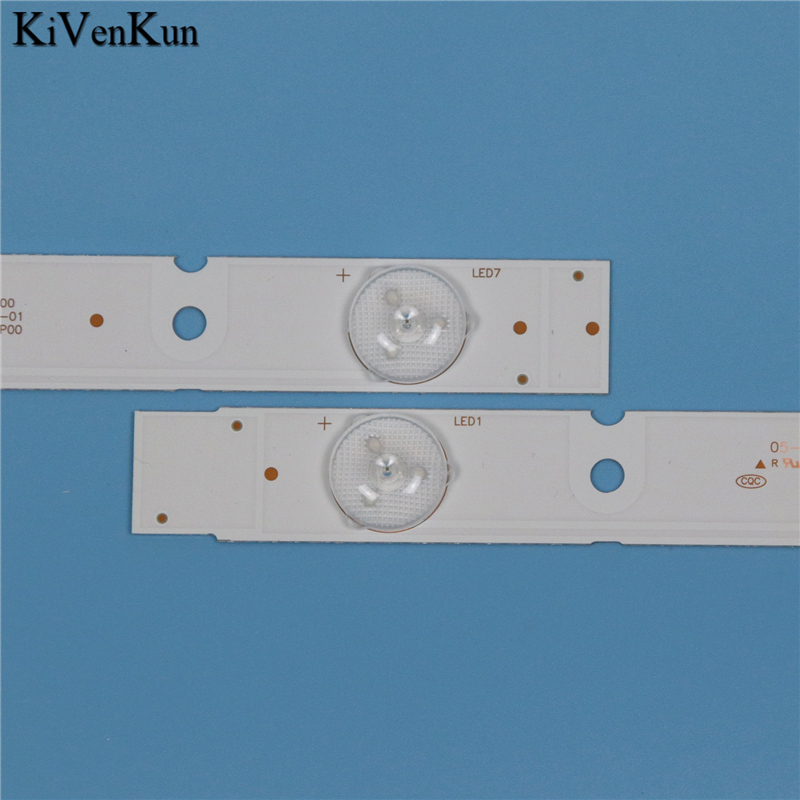 מזגנים 7 תאורה אחורית LED מנורות רצועת לקבלת Erisson 32LES71T2 5800-W32001-3P00 Ver00.00 קורות להקות קיט טלוויזיה LED LC320DXJ-SFA2 RDL320HY (5)