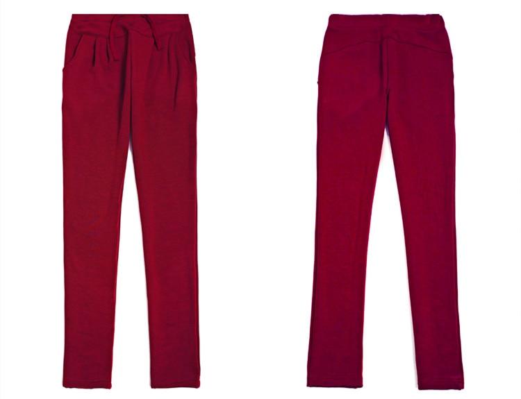 Autumn Woman Loose Stretch Sweatpant Elastic Waist Pants Black Plus Size Leisure Female Large Size 5Xl 6XL Harem Trousers Capris