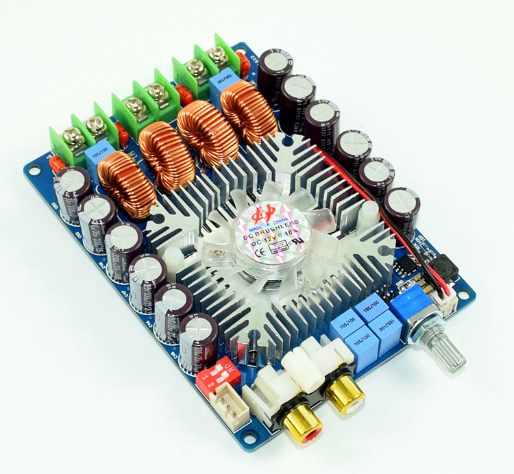 цена на Assemble TDA7498 Hi-Fi Hi-Power Amplifier Board Stereo 100W+100W Audio Amplifier Module (2018 New)
