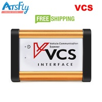 New VCS Quality A Auto Vehicle Communication Scanner Interface Better Than TCS Pro Englsih Russian Spanish