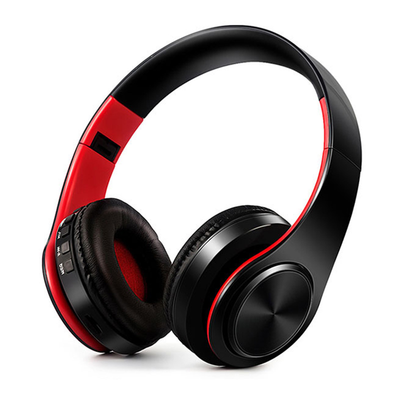 Wireless Bluetooth Headphones Noise Cancelling Stereo Foldable Bluetooth Headset Sport   Earphone Microphone headset earphone foldable on ear wireless stereo bluetooth headphones headset supports fm
