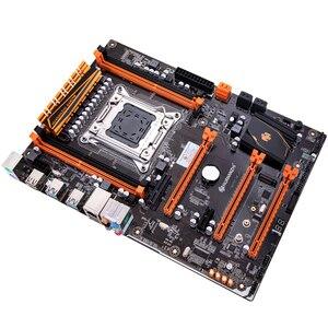 Image 3 - HUANANZHI X79 motherboard LGA 2011 ATX USB3.0 SATA3 PCI E NVME M.2 support 4*16G REG ECC memory and Xeon E5 processor