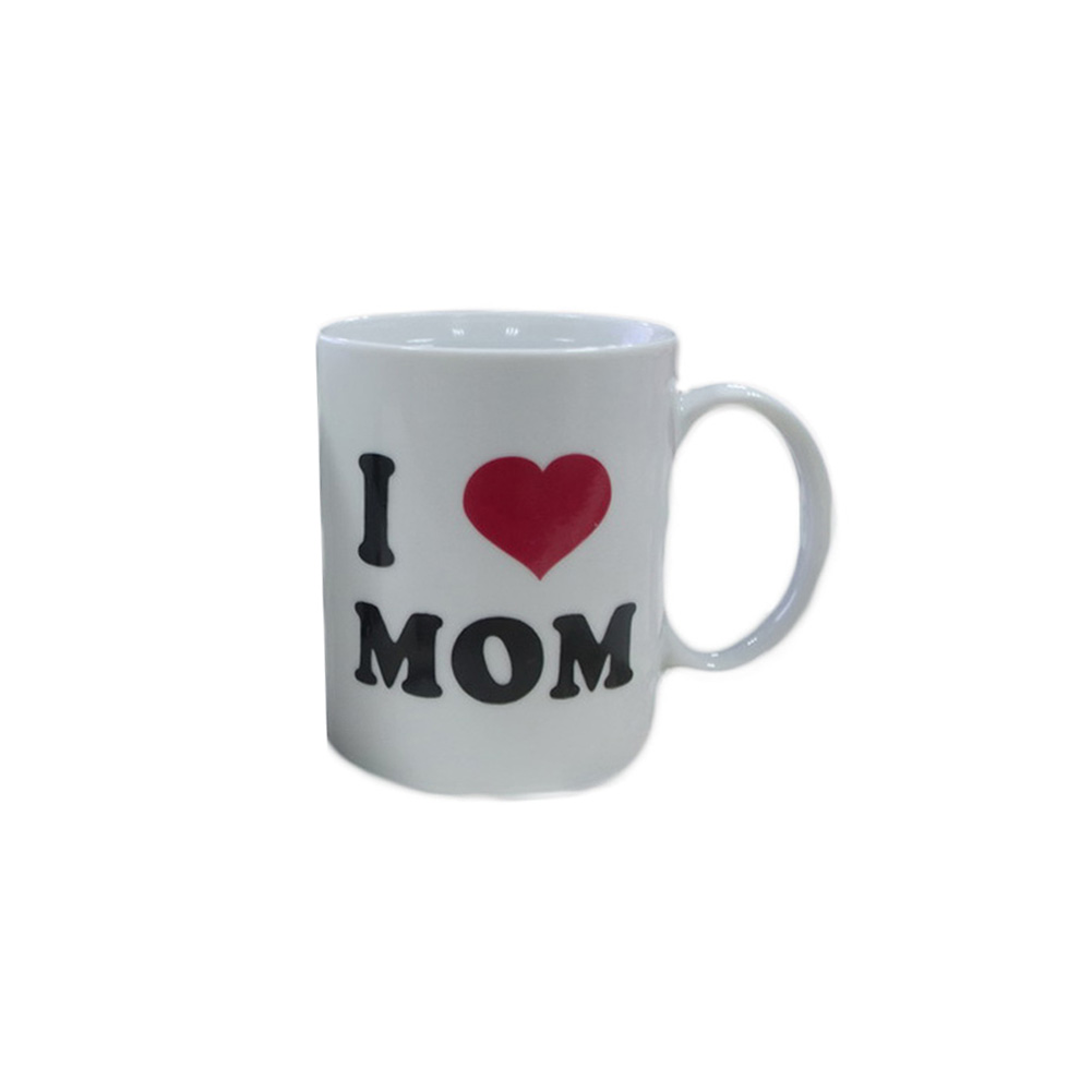 Mothers day coloring online - 1 Piece I Love Mom Magic Color Changing Cup Heat Sensitive Mug Handgrip Coffee
