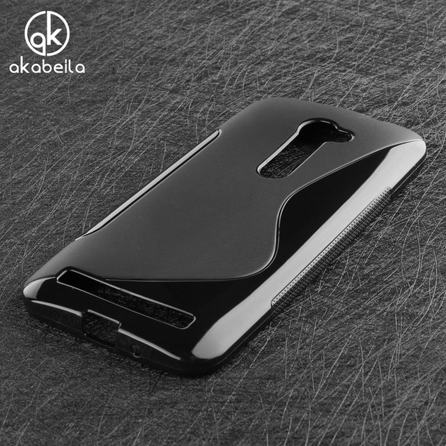 AKABEILA Mobile Phone Case For Asus Zenfone 2 ZE500CL 2E Z00D Zenfone2 5.0 Inch Silicon Cover Shell Skin