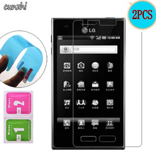 2PCS For LG L5 Ultra Clear Soft TPU Nano Explosion proof Screen Protector For