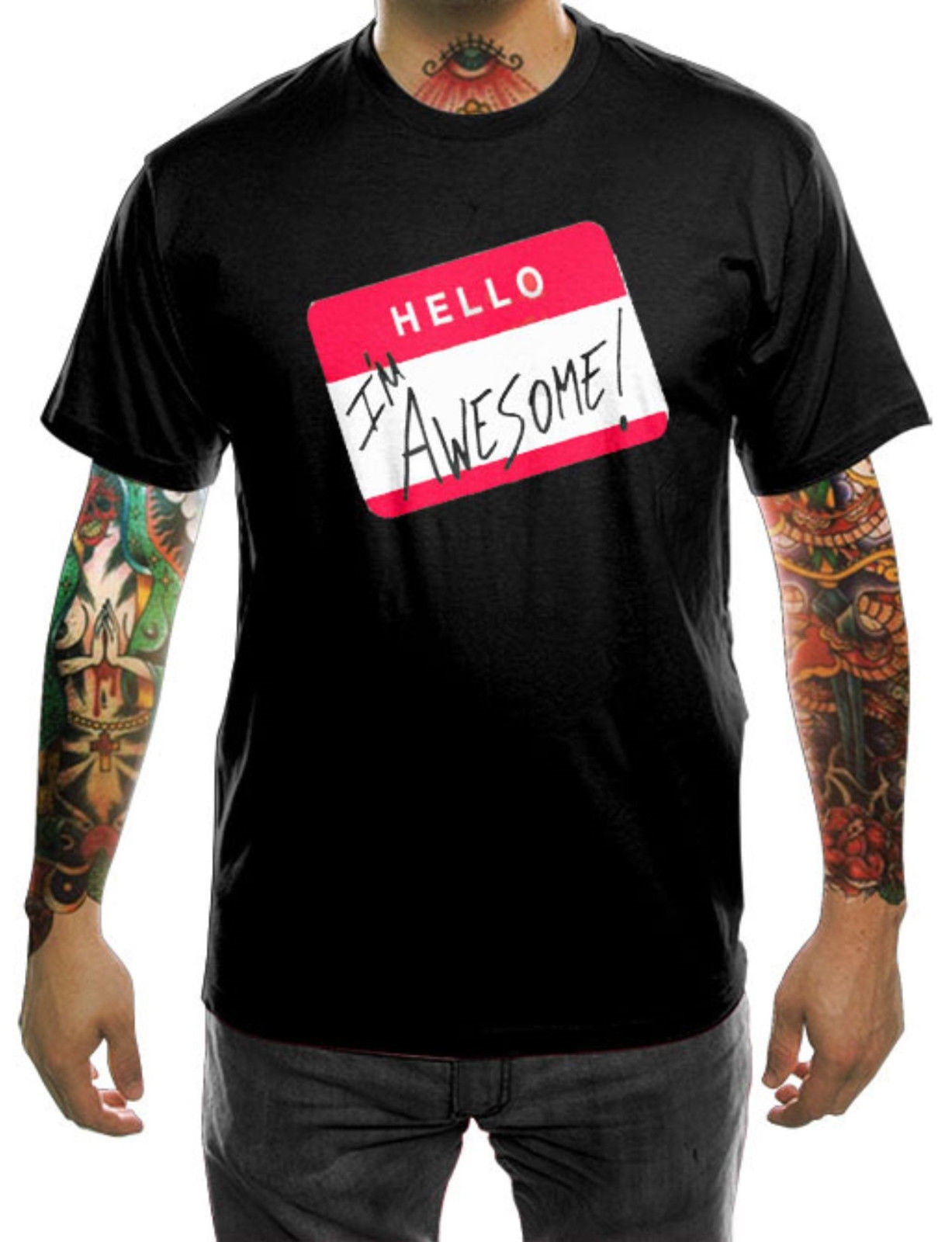 The Miz Im Awesome Youre Not Wrestling Black Custom T Shirt Size