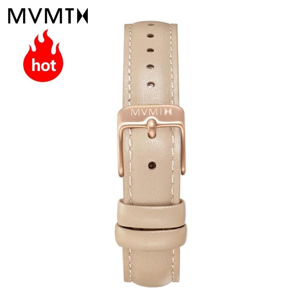 MVMT Italian calf leather genuine leather strap vintage elegant casual lady strap 38mmdw все цены