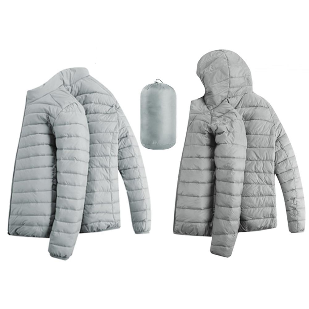 HTB1G0I XynrK1Rjy1Xcq6yeDVXa9 Jacket Men Autumn Winter Style Light Weight Overcoat Outerwear Coats Cotton Warm Hooded Men's Jacket Coat chaqueta hombre S-2XL
