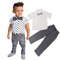 Children clothing fashion kids boys cloting sets Baby boys t shirt+pants 2 pcs/set kids sports tracksuit kids clothes