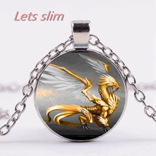 Buy golden dragon jewelry and get free shipping on aliexpress lets slim slimwestern shenlong silver winged golden dragon aloadofball Gallery