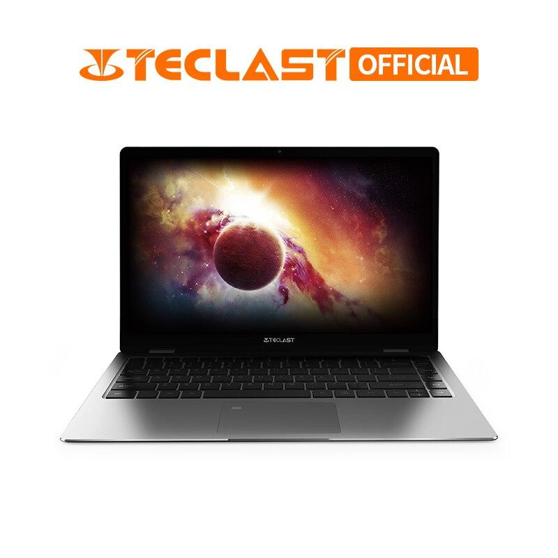 Teclast F6 Pro Notebook da 13.3 pollici 1920x1080 Finestre 10 8 GB di RAM 128 GB Intel Core m3-7Y30 Dual core di Riconoscimento Delle Impronte Digitali