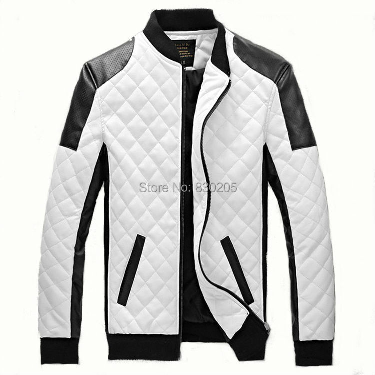 Aliexpress.com : Buy Faux Leather Baseball Jacket Men 5xl Plus ...