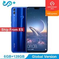 Доставка от ES huawei Honor 8X LTE мобильный телефон Глобальная версия 3 дня прибыл 6,5