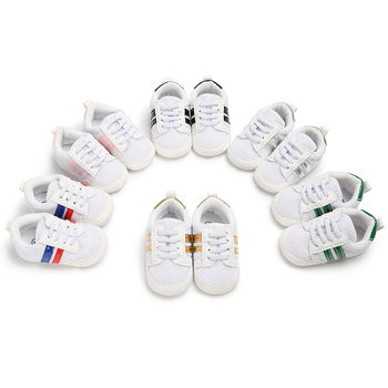 Summer Mesh Sneakers Baby Breathable Shoes Infants Baby Walker Toddler Soft Sole Net Sport Shoes 6 Colors Available 0-18 Months