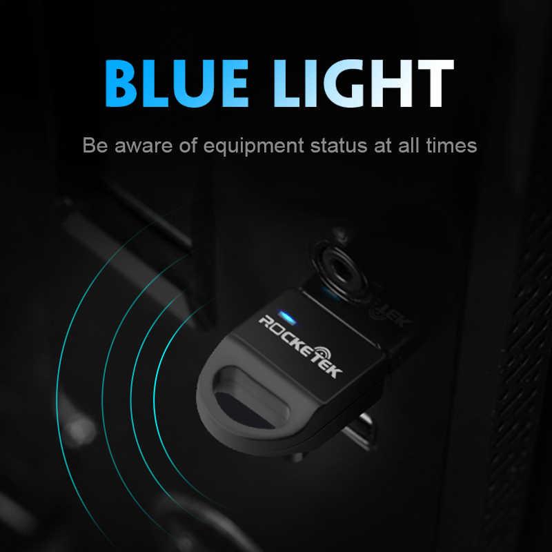 Rocketek CSR 4.0 A2DP Bluetooth Adapter USB Dongle for PC Computer Speaker audio/ps4 controller/Receiver transmitter