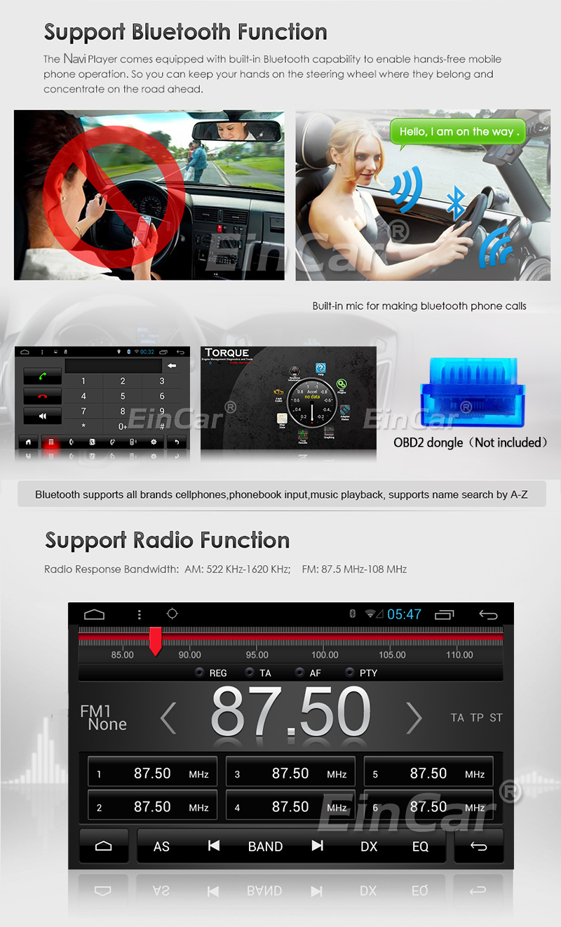 Excellent 2Din Head Unit Android 5.1.1 GPS radio Car Stereo Auto Radio Audio 1080P Video Player Wifi FM Steering Wheel Control+rear Camera 4