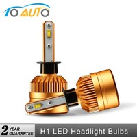 2Pcs Car H1 Led Headlight Bulbs 50W 8000LM Super Bright White Auto Front Bulb Lamp LED Lights Automobiles Headlamp 12V 24V