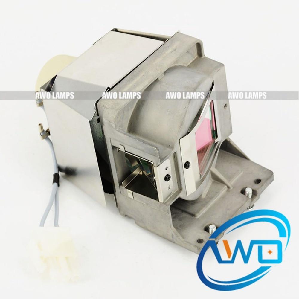AWO Original UHP Beamerlampe mit Gehäuse 5J.J8F05.001 für BENQ MX503H / MX661 / MX805ST