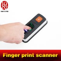 Chamber room escape game prop finger print scanner scan the fingerprint to unlock real life adventure game prop jxkj1987