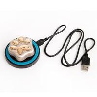 Mini GPS Tracker חיות מחמד עמיד למים V32 טעינה אלחוטית מעקב מפת גוגל גשש GPS GPRS GSM Wireless Intelligent