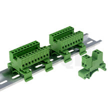 1sets 10-20pin Pitch 5.08mm Schroef Plug-in Terminal Blokken connector Din Rail Montage in plaats 2EDG-UKR-5.08mm Rail terminal(China)