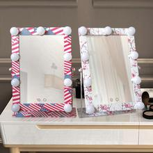 Exotic Hollywood led Touch Screen Makeup Mirror Professional Vanity Mirror Lights Health