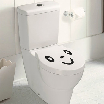 Washing Machine Sticker Bathroom Car Personalized Diy Smile Face Toilet Stickers  Furniture Decoration Wall Decals Fridge Gift