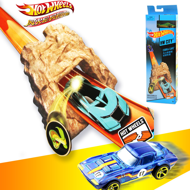 Genuine Mattel Brand Hot Wheels Car Track Set Easy Style Upgraded Version Hotwheels Car Track Model Bct35 For Kid Birthday Gift Toys & Hobbies