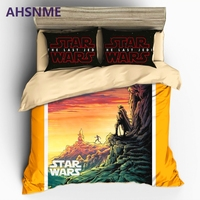 AHSNME Star Wars Manga Image Bedding Sets Duvet Cover Pillowcase Multi-national standard size housse de couette