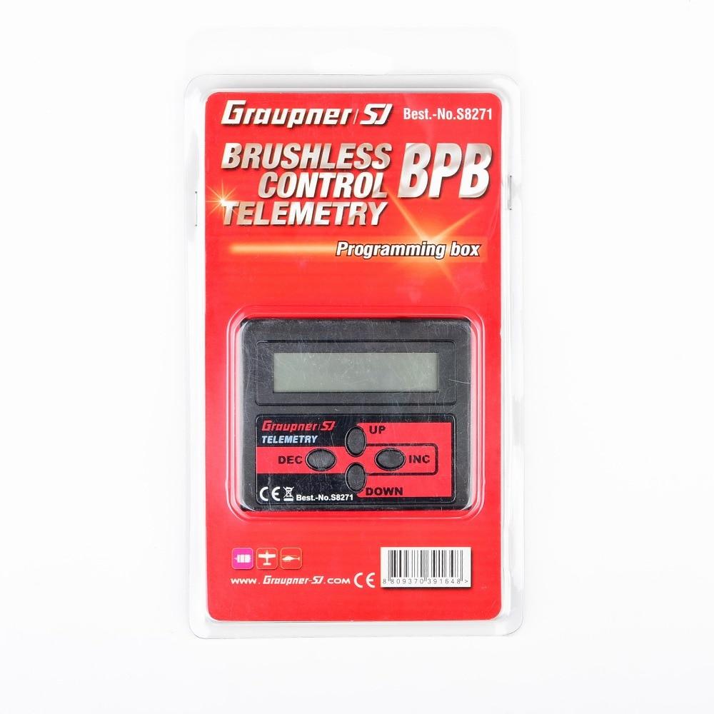 Graupner Programming box for AIR ESC's Red Brushless Control Air ESC Program Box