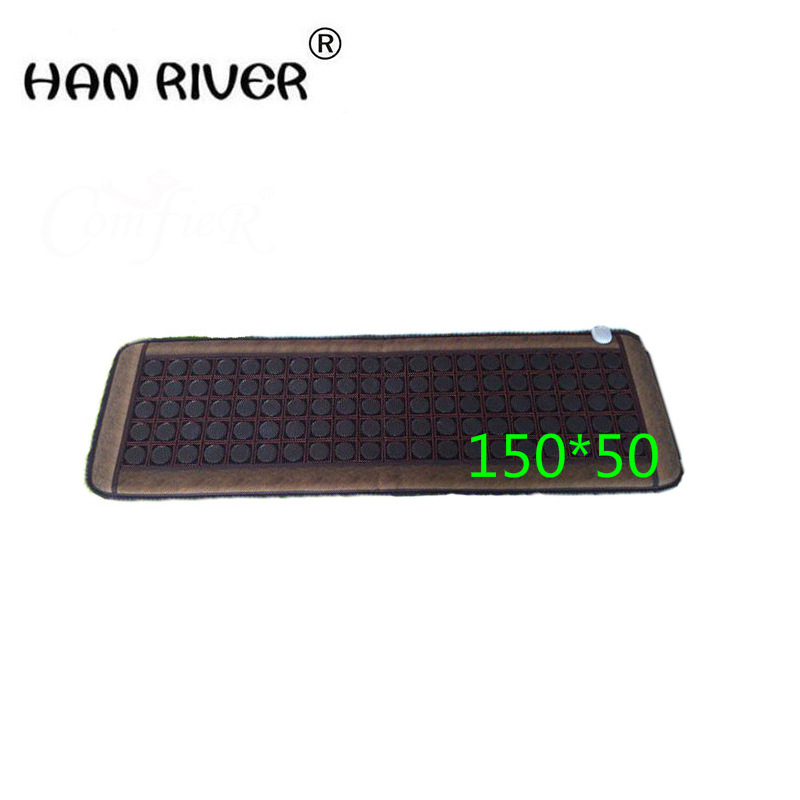 Natural jade 5 rows of germanium stone therapy three sofa cushion Electric heating cushion health care physical therapy carpet best selling korea natural jade heated cushion tourmaline health care germanium electric heating cushion physical therapy mat page 9