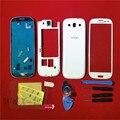 Замена Case Для Smaung Полный Крышка Корпуса Case Задняя Дверь Крышка батареи Case Экран Стеклянный Объектив Для Samsung Galaxy S3 i9300