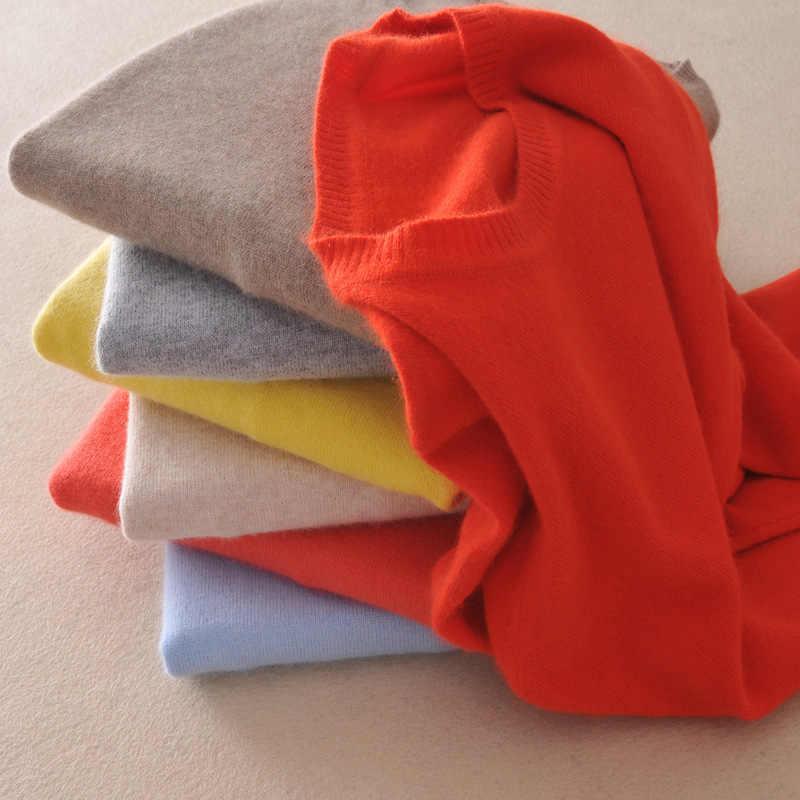 Корейский Для женщин Сплошной Цвет модные осень-зима свитер с круглым вырезом леди Свободные Большой Размеры пуловер вязаный шерстяной свитер Туника Femme пальто