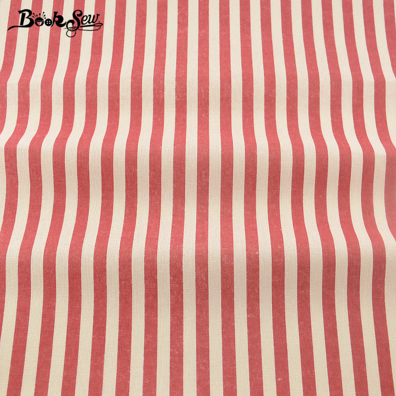 Booksew tejido de lino de algodón textiles para el hogar material de costura bol