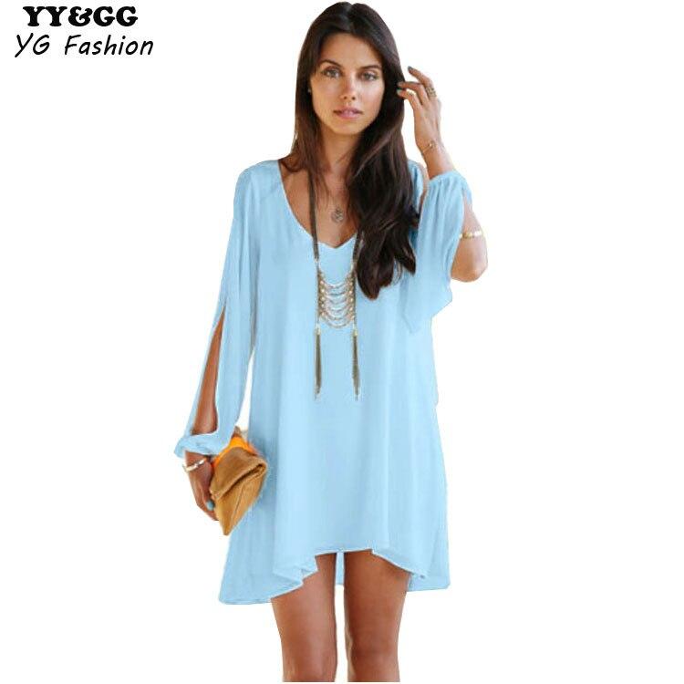 Top Negozio Online 2015 nuove donne del vestito tropicale oltre a  YF04