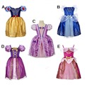 Boutique Summer 2016 Cinderella Girl Christmas Dresses Girl Princess Elsa Dress for Kids Party Clothes Infants Dress Children's