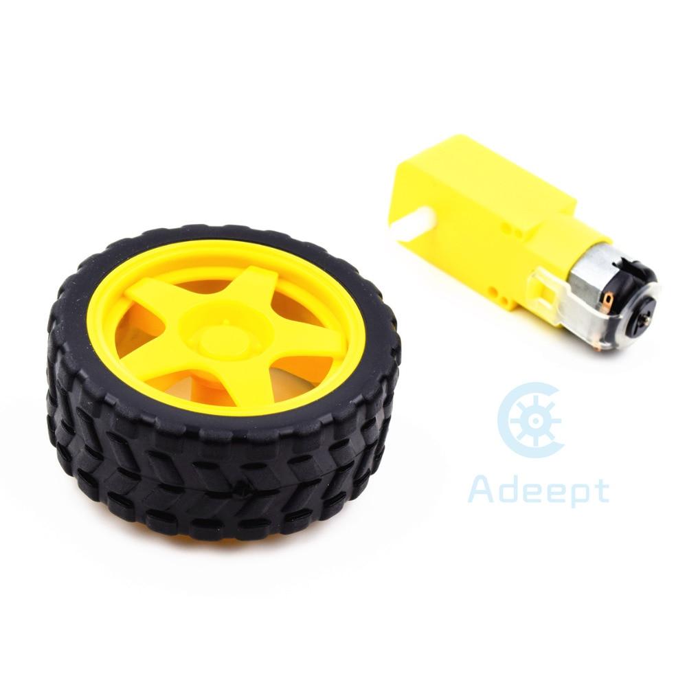 Adeept Smart τροχός ρομπότ πλαστικών - Έξυπνα ηλεκτρονικά - Φωτογραφία 4