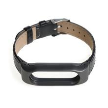 Bandas de reemplazo correa de pulsera correa de cuero para xiaomi mi 2 pulsera inteligente