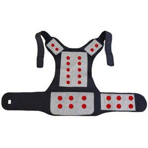 Image 4 - Turmalin samonagrzewający magnetoterapia pas pas wspierający Kneepad ramiona sweter kamizelka kamizelka ciepłe leczenie bólu pleców