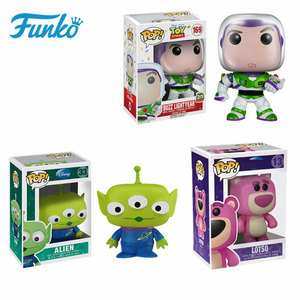 Funko Pop экшн-фильм История игрушек мультфильма Вуди лотсо Базз Лайтер фигурка