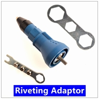 Nail Gun Electric Rivet Nut Gun Riveting Tool Cordless Riveting Drill Adaptor Insert Nut Tool Multifunction
