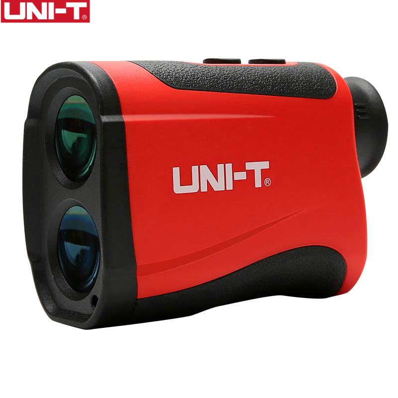 UNI-T Golf Laser Telemetro LM800 Laser Range Finder Telescope Distanza Misuratore di Altitudine Angolo